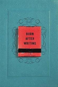 Burn After Writing 1