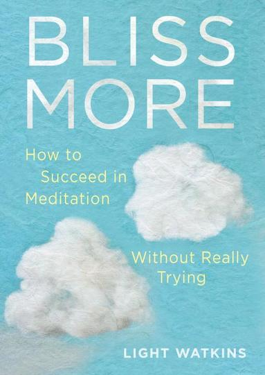 bokomslag Bliss more - how to succeed in meditation without really trying
