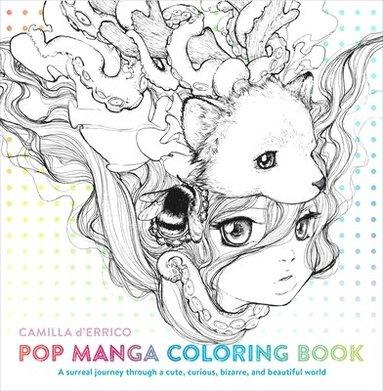 bokomslag Pop manga coloring book