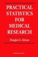 bokomslag Practical statistics for medical research