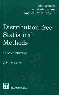 bokomslag Distribution-Free Statistical Methods, Second Edition