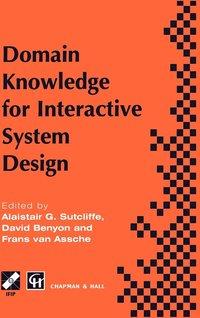 bokomslag Domain Knowledge for Interactive System Design