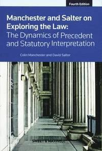 bokomslag Manchester &; Salter on Exploring the Law