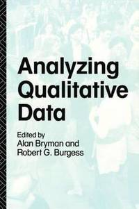 bokomslag Analyzing Qualitative Data