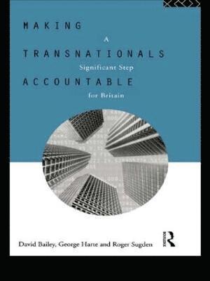 bokomslag Making Transnationals Accountable