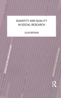 bokomslag Quantity and Quality in Social Research
