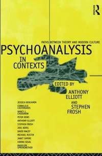 bokomslag Psychoanalysis in Context