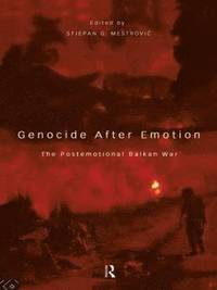 bokomslag Genocide after Emotion