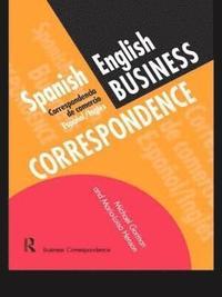 bokomslag Spanish/English Business Correspondence