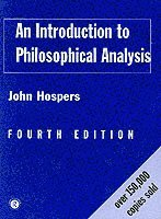 bokomslag Introduction to philosophical analysis