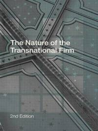 bokomslag The Nature of the Transnational Firm