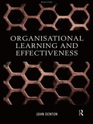 bokomslag Organisational Learning and Effectiveness