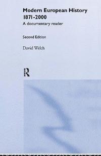bokomslag Modern European History, 1871-2000