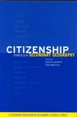 bokomslag Citizenship Through Secondary Geography