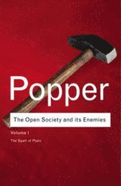 bokomslag Open Society and Its Enemies, The Vol 1