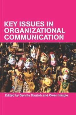 bokomslag Key Issues in Organizational Communication