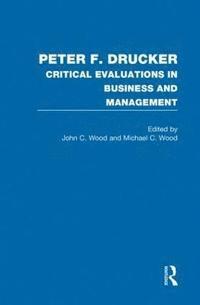 bokomslag Peter F. Drucker