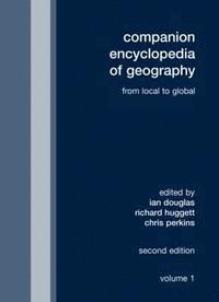 bokomslag Companion Encyclopedia of Geography