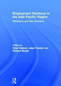 bokomslag Employment Relations in the Asia-Pacific Region