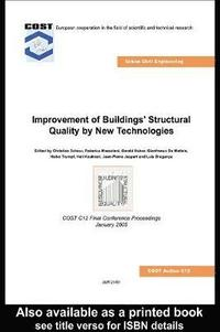 bokomslag Improvement of Buildings' Structural Quality by New Technologies