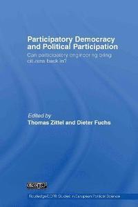 bokomslag Participatory Democracy and Political Participation