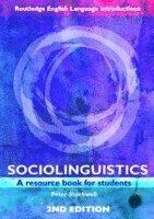 bokomslag Sociolinguistics - a resource book for students