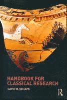 bokomslag Handbook for Classical Research