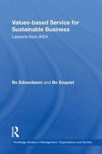 bokomslag Values-based Service for Sustainable Business