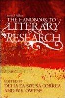 bokomslag The Handbook to Literary Research