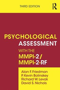 bokomslag Psychological Assessment with the MMPI-2 / MMPI-2-RF