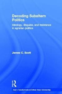 bokomslag Decoding Subaltern Politics