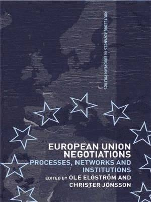 bokomslag European Union Negotiations: Processes, Networks and Institutions