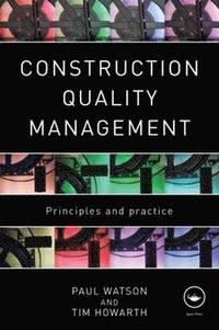 bokomslag Construction Quality Management