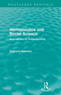 bokomslag Hermeneutics and Social Science