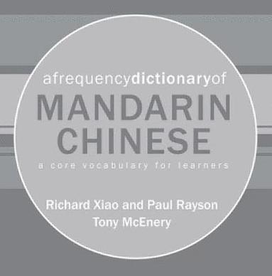bokomslag A Frequency Dictionary of Mandarin Chinese