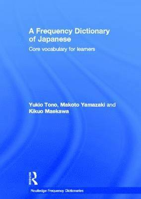 bokomslag A Frequency Dictionary of Japanese