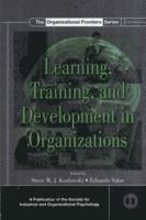 bokomslag Learning, Training, and Development in Organizations