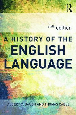bokomslag A History of the English Language