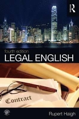bokomslag Legal English