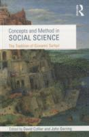 bokomslag Concepts and Method in Social Science
