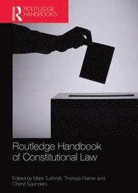 bokomslag Routledge Handbook of Constitutional Law