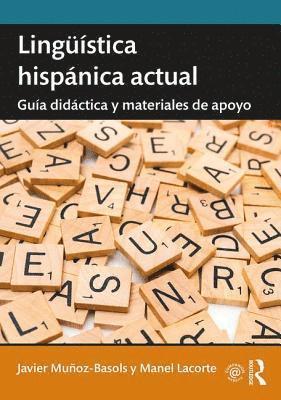 bokomslag Linguistica hispanica actual: Guia didactica y materiales de apoyo
