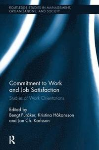 bokomslag Commitment to Work and Job Satisfaction