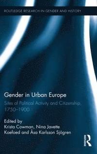 bokomslag Gender in Urban Europe