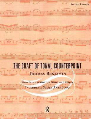 bokomslag The Craft of Tonal Counterpoint