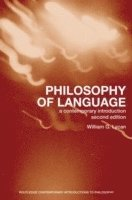 bokomslag Philosophy of Language: A Contemporary Introduction