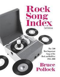 bokomslag Rock Song Index