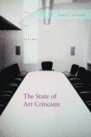 bokomslag The State of Art Criticism