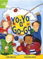 bokomslag Rigby Star Guided 1 Green Level: Yo-Yo a Go-Go Pupil Book (single)