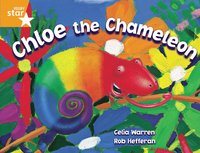 bokomslag Rigby Star Guided 2 Orange Level, Chloe the Chameleon Pupil Book (single)